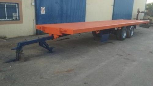 Plataforma 14TN tipo tándem de 8 metros