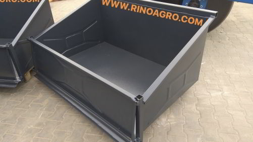 Cajón de transporte marca Rinoagro 2.00 metros
