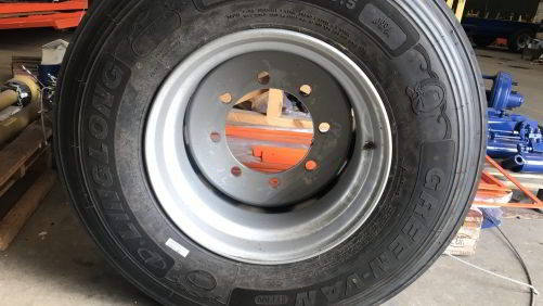 Neumático agrícola. 435/50 19,5- Completa