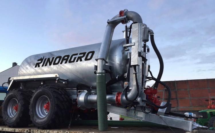 cisterna agrícola 12.000L galvanizada